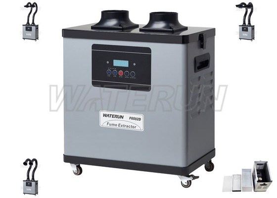 Triple Filter Design Laboratory Fume Extractor for Cleaning Harmful Substances