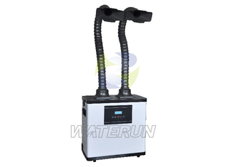 Digital Control Lab Fume Extractor / Air Purifier with Double Fume Extraction Arms